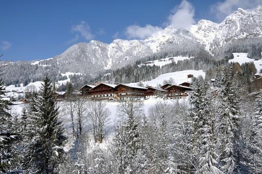 Der Alpbacherhof im Winter - Bild (c) Alpbachtal Seenland Tourismus
