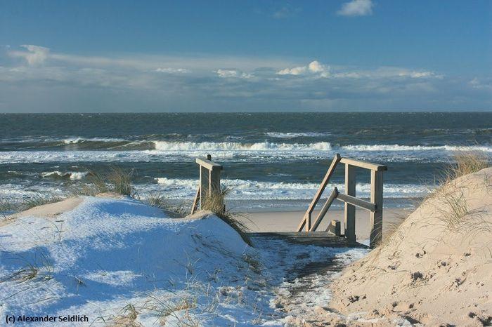 Die Nordseeküste im Winter - Bild (c) Alexander Seidlich / www.nordseetourismus.de
