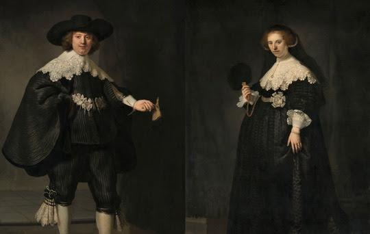 """Rembrandts Doppelporträt, bekannt als """"Marten und Oopjen"""", erstrahlt ab 8. März 2018 in neuem Glanz im Rijksmuseum. Bild: Niederländisches Büro für Tourismus und Convention"""