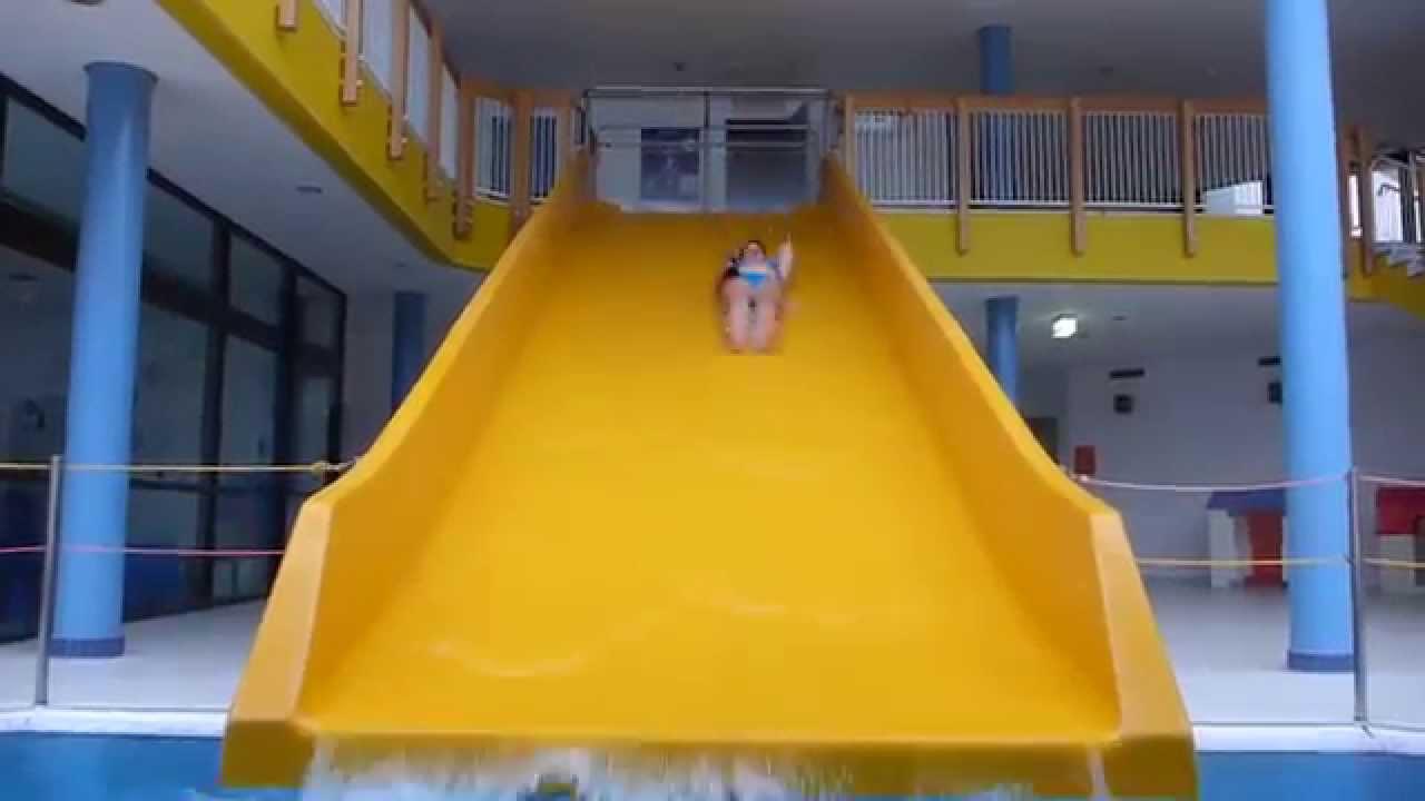 Moselbad Cochem-Cond - gelbe Breitrutsche Onride