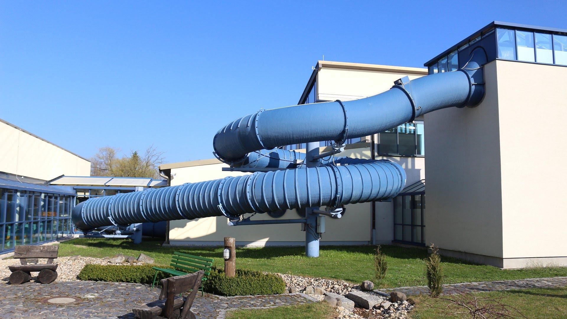 Trixi Ferienpark Großschönau - Black Hole Röhrenrutsche Onride