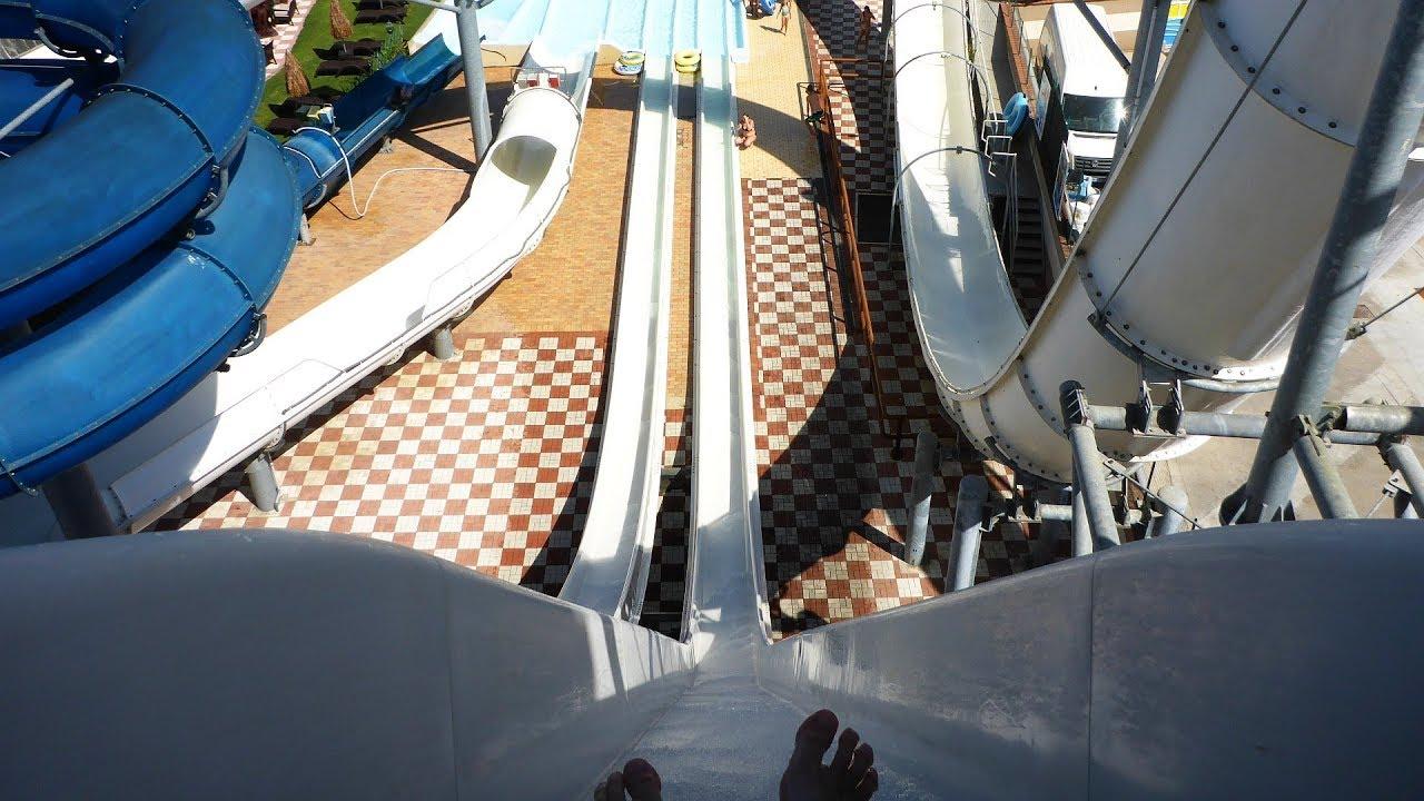 Stukas :: Double Freefall Slide | Le Vele Acquapark San Gervasio Bresciano