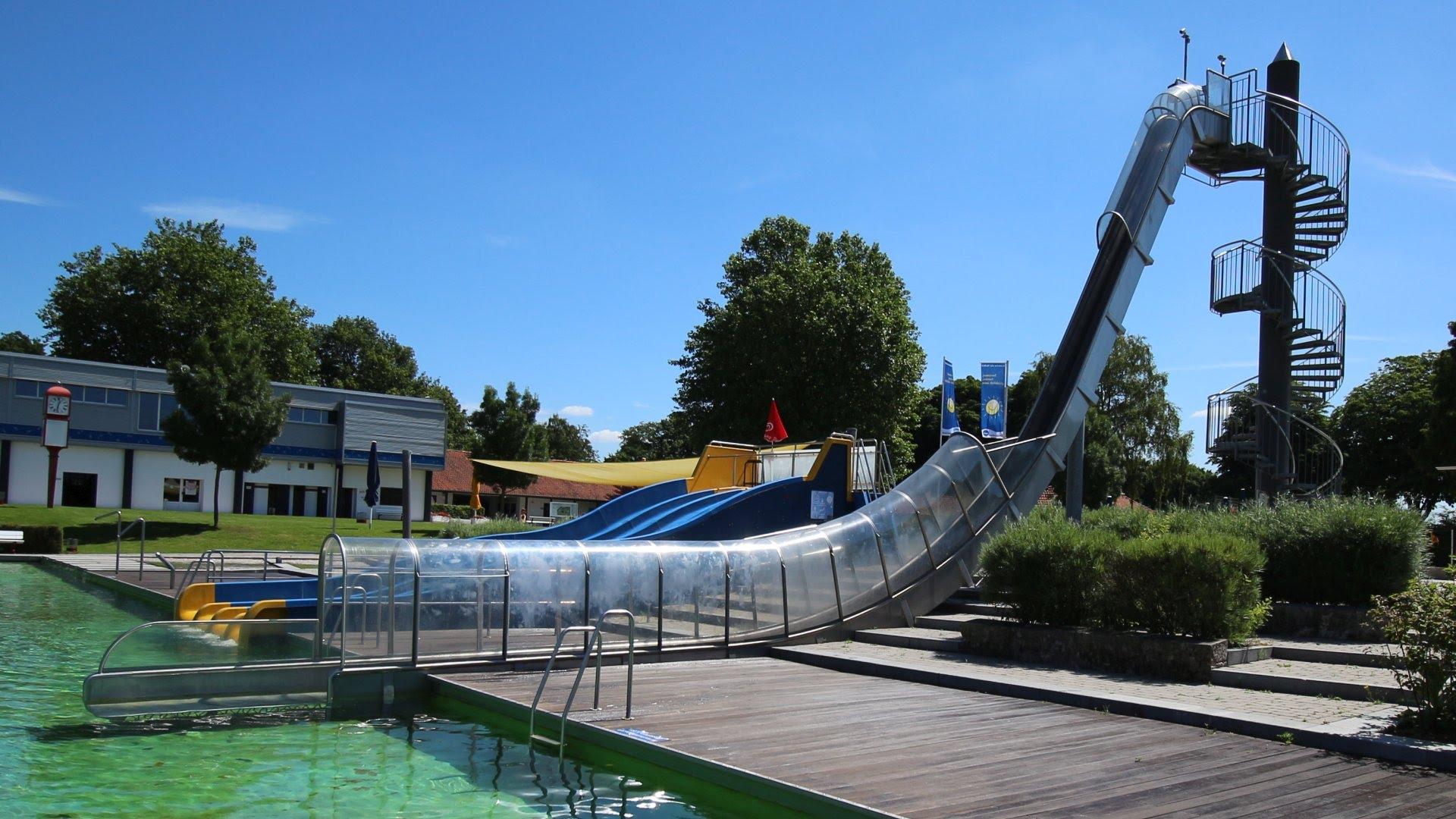 Freefall Speed-Slide | Stadionbad Bremen
