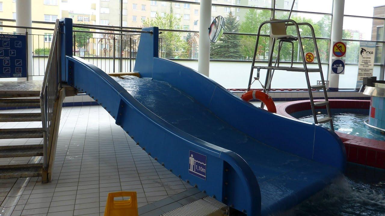 Breitrutsche :: blaue Beckenrutsche | Orka Park Wodny Bolesławiec