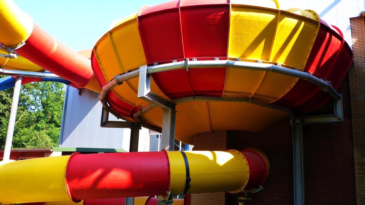 Reifen-Trichterrutsche :: Rafting Funnel Slide   Topas Spaßbad Schloss Dankern (Haren/Ems)