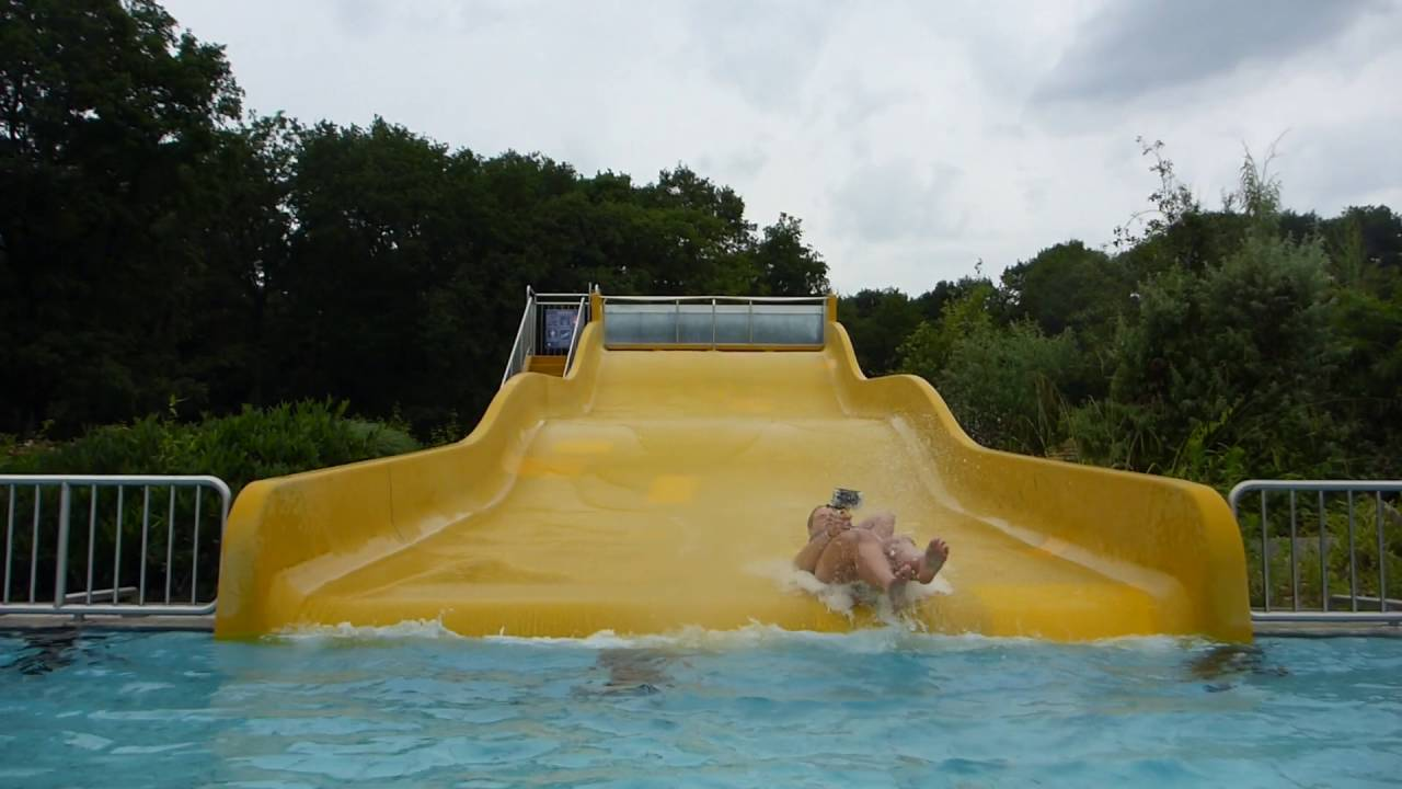 gelbe Breitrutsche :: Breit-Wellenrutsche   Waldbad Hilden