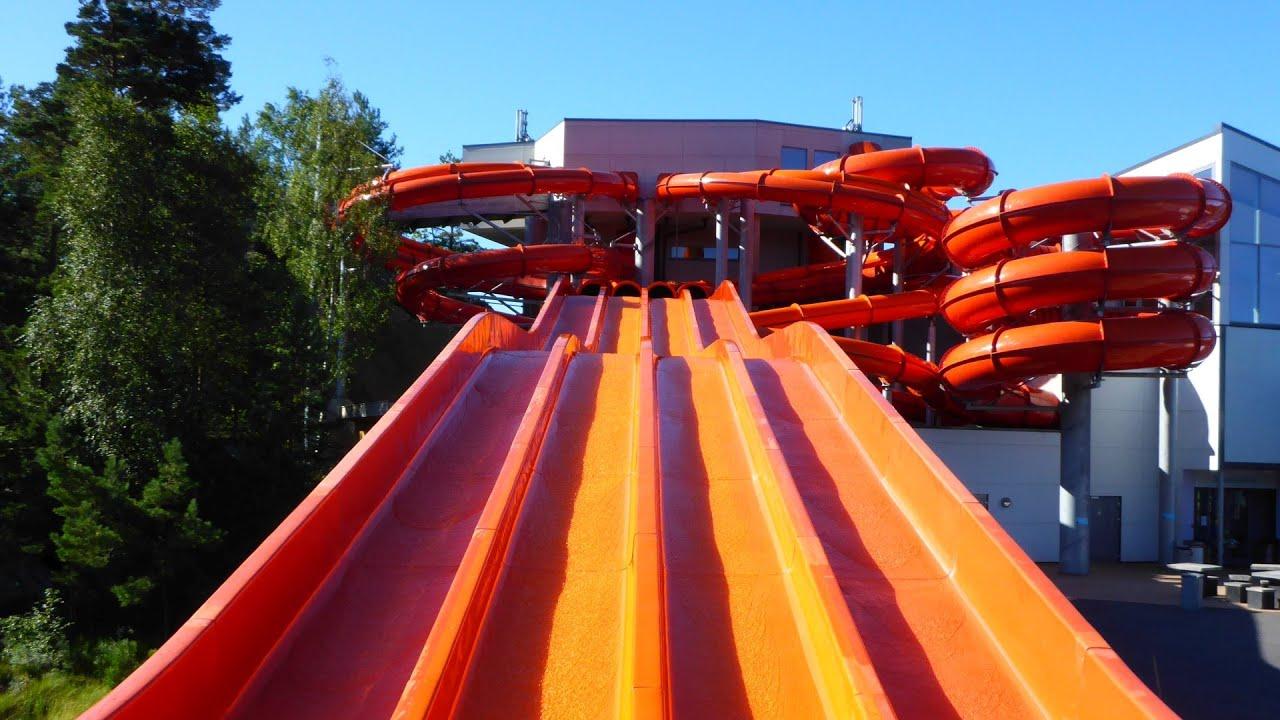 """Mattenrutsche """"SuperSpeed"""" :: Mat Racer Slide   Dyreparken Badelandet Kristiansand"""