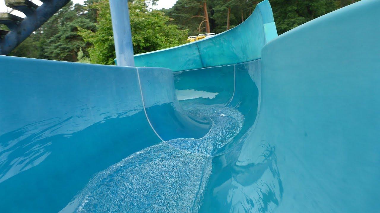offene Riesenrutsche :: Freibad-Rutsche   Waldbad Hilden