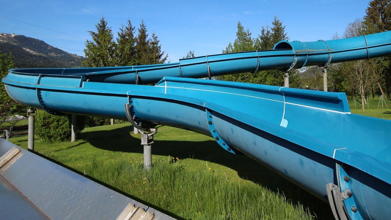 offene Riesenrutsche :: Tunnelrutsche | Kaiserbad Ellmau