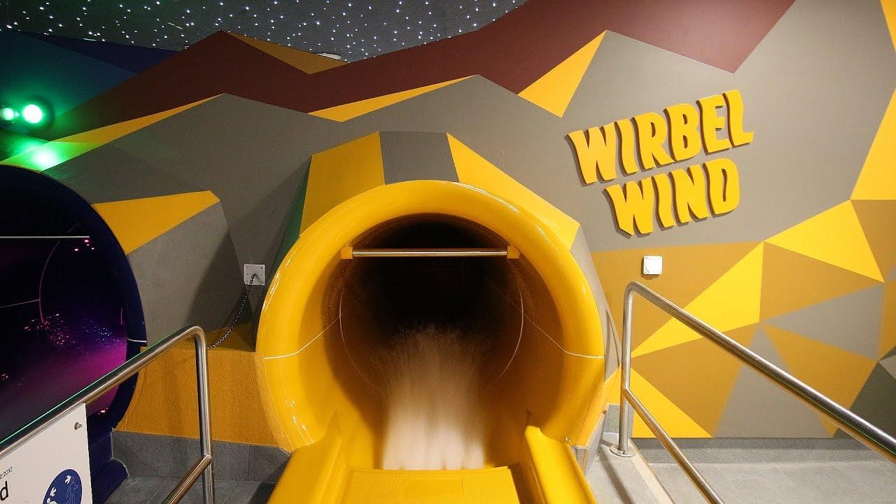 Wirbelwind Trichterrutsche :: Cone Slide   Säntispark Abtwil [NEU 2016]