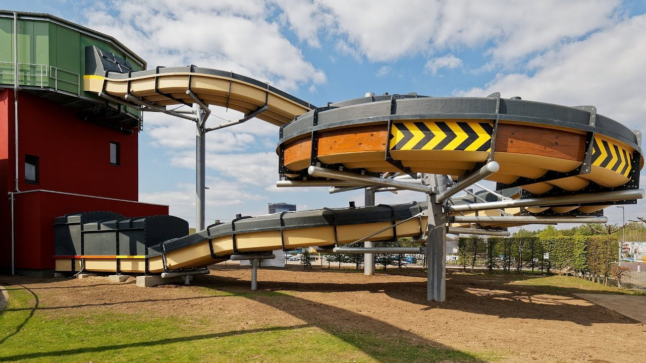 Knappenrutsche :: Racer Slide | AQUApark Oberhausen [NEU 2019]