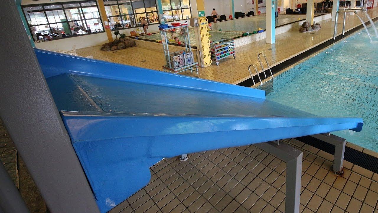 blaue Breitrutsche :: Beckenrutsche   Arrild Svømmehal Toftlund