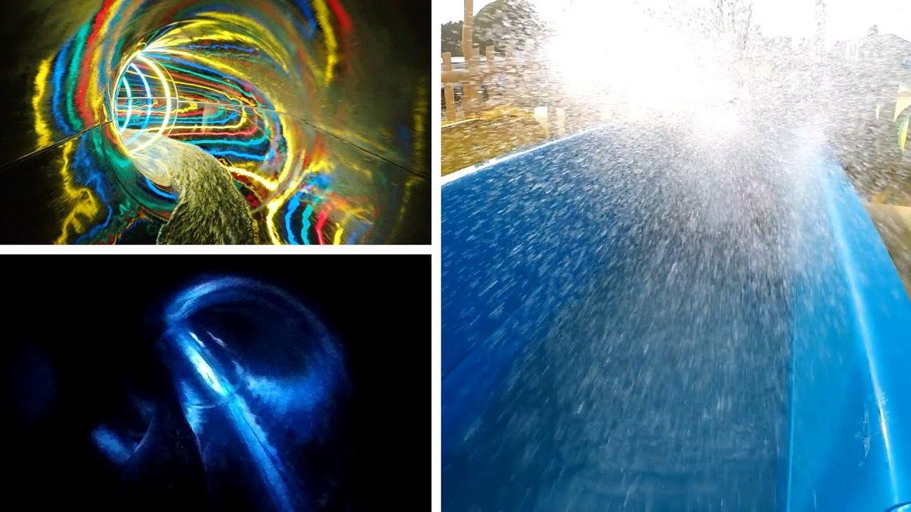 blaue Turborutsche :: Speed-Röhrenrutsche | Camping Franceloc L'hirondelle Oteppe [NEU 2017]