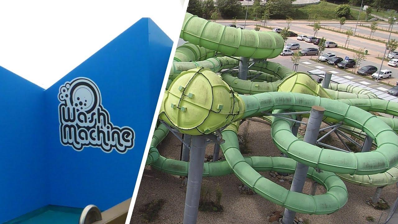 Wash Machine :: Cone Slide Reifenrutsche | Splash e Spa Tamaro Rivera (Monteceneri)