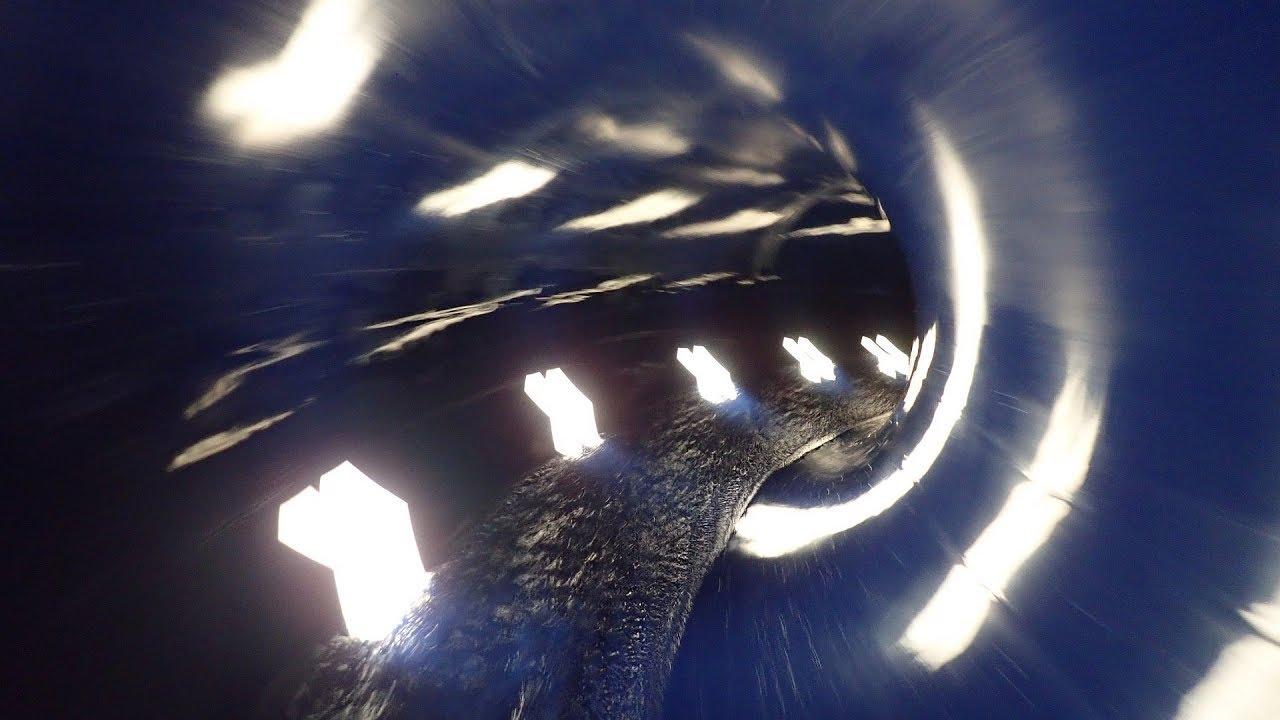 Black Hole :: Soft Turbo Slide | Freizeitbad Düsselstrand Düsseldorf