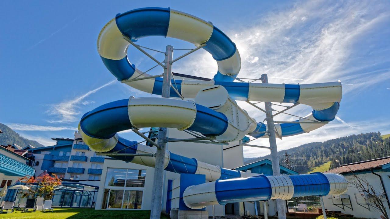 Reifenrutsche :: Fake Illusion Slide | Schlosshotel Lacknerhof Flachau