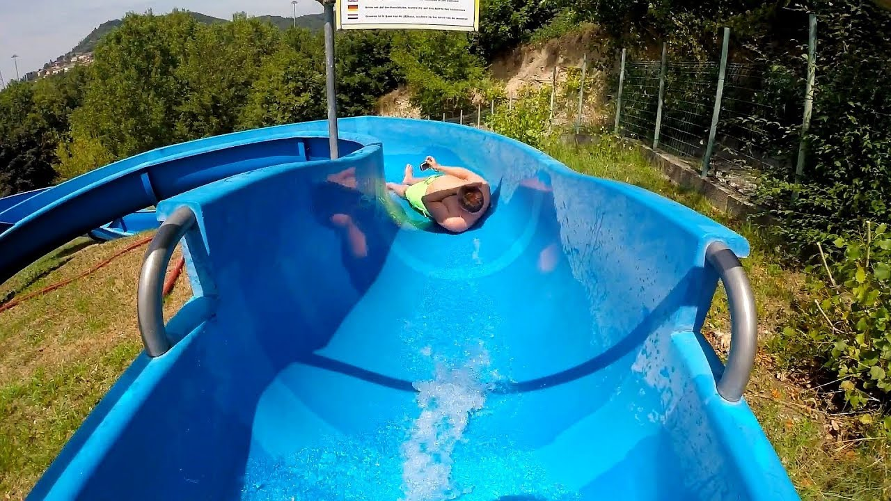 Scivolo Blu :: blaue Riesenrutsche | RioValli Cavaion Veronese